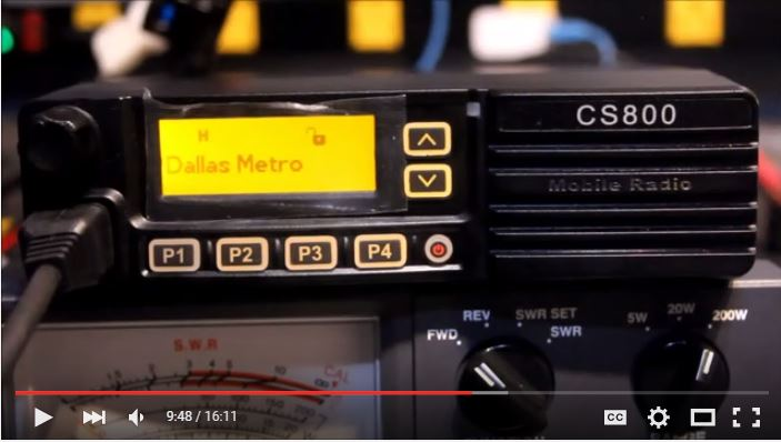 Episode 6: Unboxing the Connect Systems CS800 Mobile DMR Radio