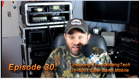 Episode 30: Unboxing the BaofengTech UV-5001 Dual Band Mobile Radio