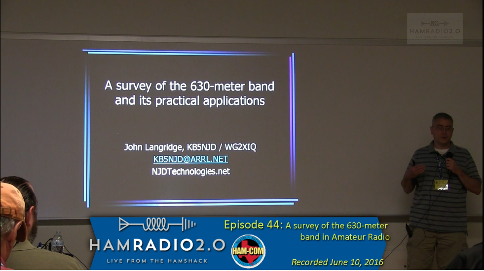 Episode 44: A Survey of the 630-meter band for Amateur Radio