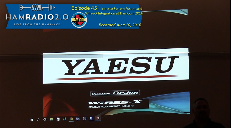Episode 45 – Intro to System Fusion and Wires-X Integration at HamCom 2016