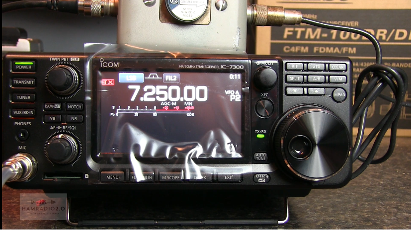 Episode 50: Unboxing and Testing the Icom IC-7300