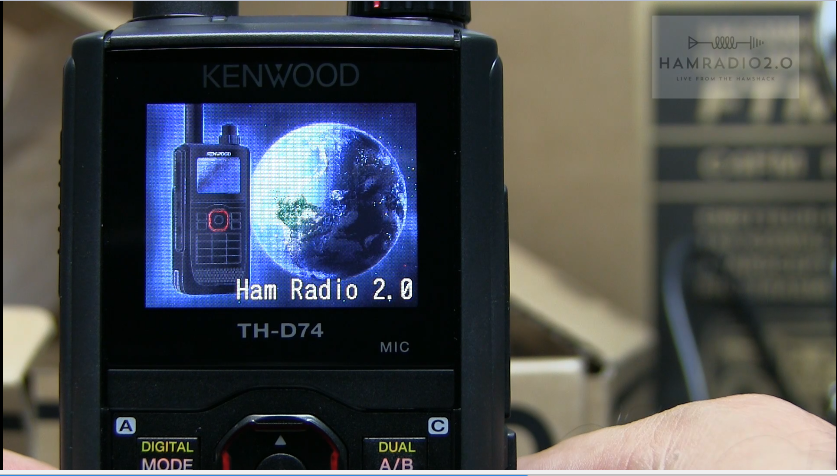 Episode 64: Unboxing and Testing the Kenwood TH-D74A Triband DSTAR HT