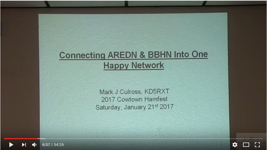 Episode 78: Connecting AREDN and BBHN into one happy network
