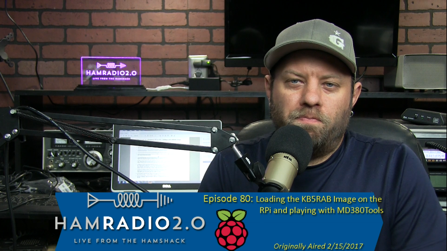 Episode 80: Loading the KB5RAB RPi Image and Updating