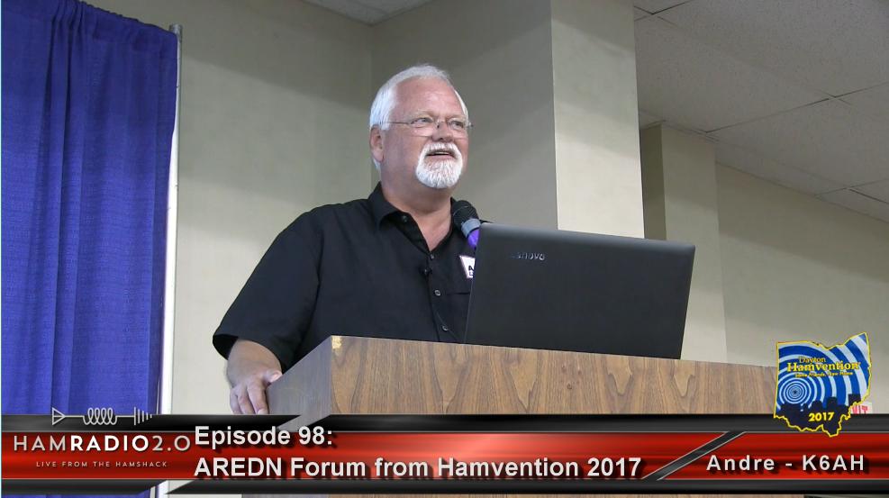 Episode 98: AREDN MESH Networking Forum from Dayton Hamvention 2017