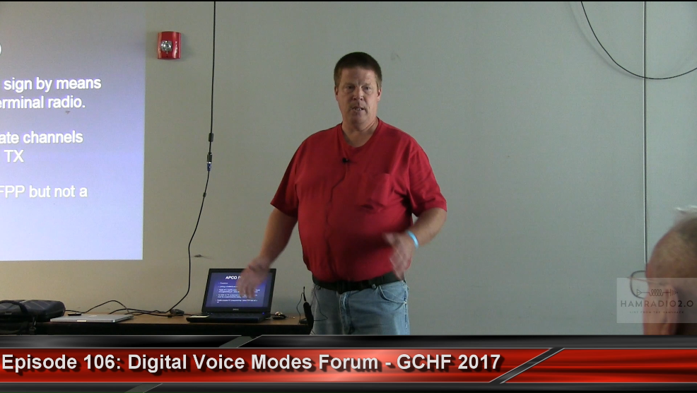 Episode 106: Digital Voice Modes Forum from Green Country Hamfest
