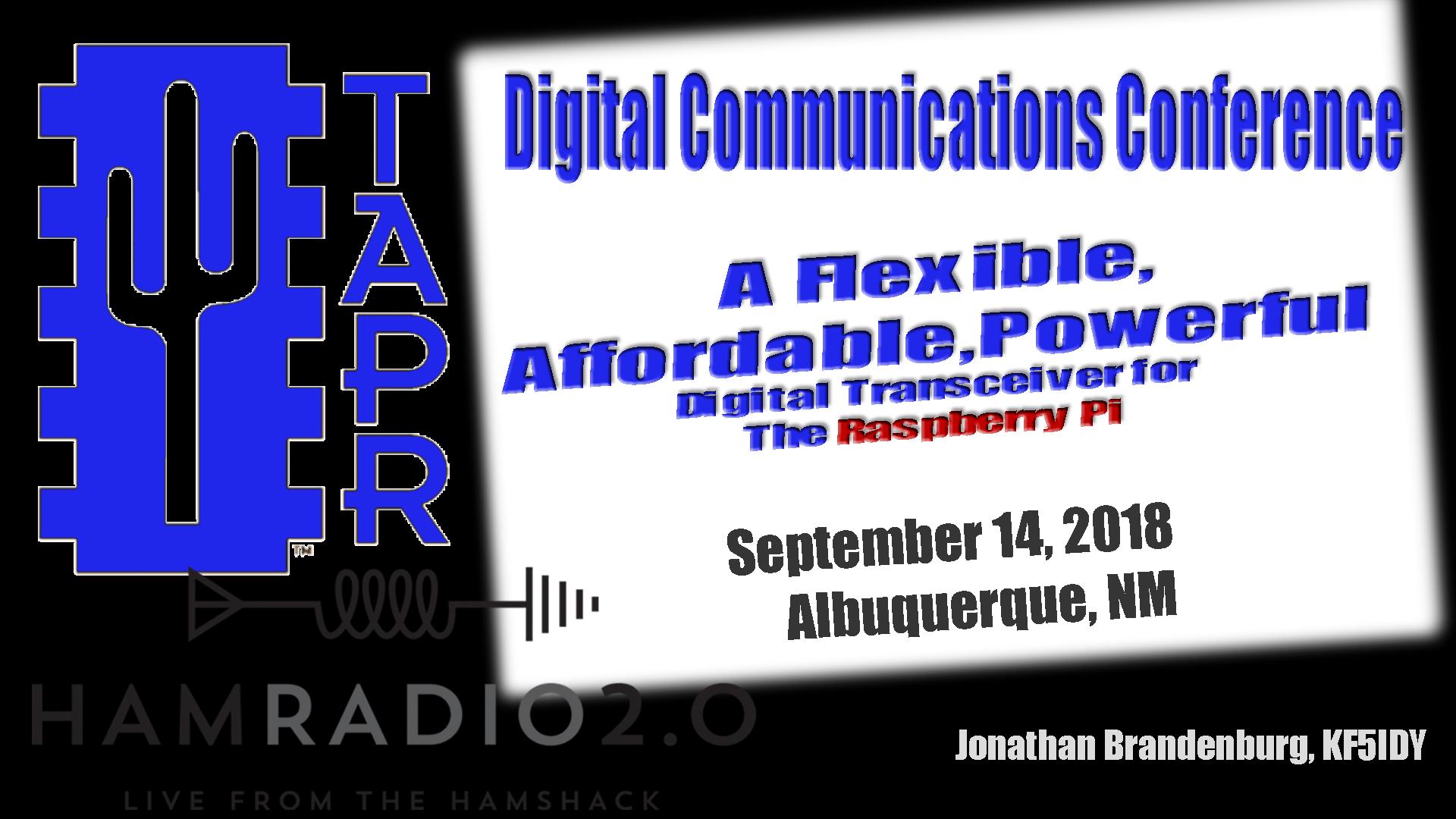 Episode 156: A Raspberry Pi Digital Transceiver from TAPR DCC - Ham
