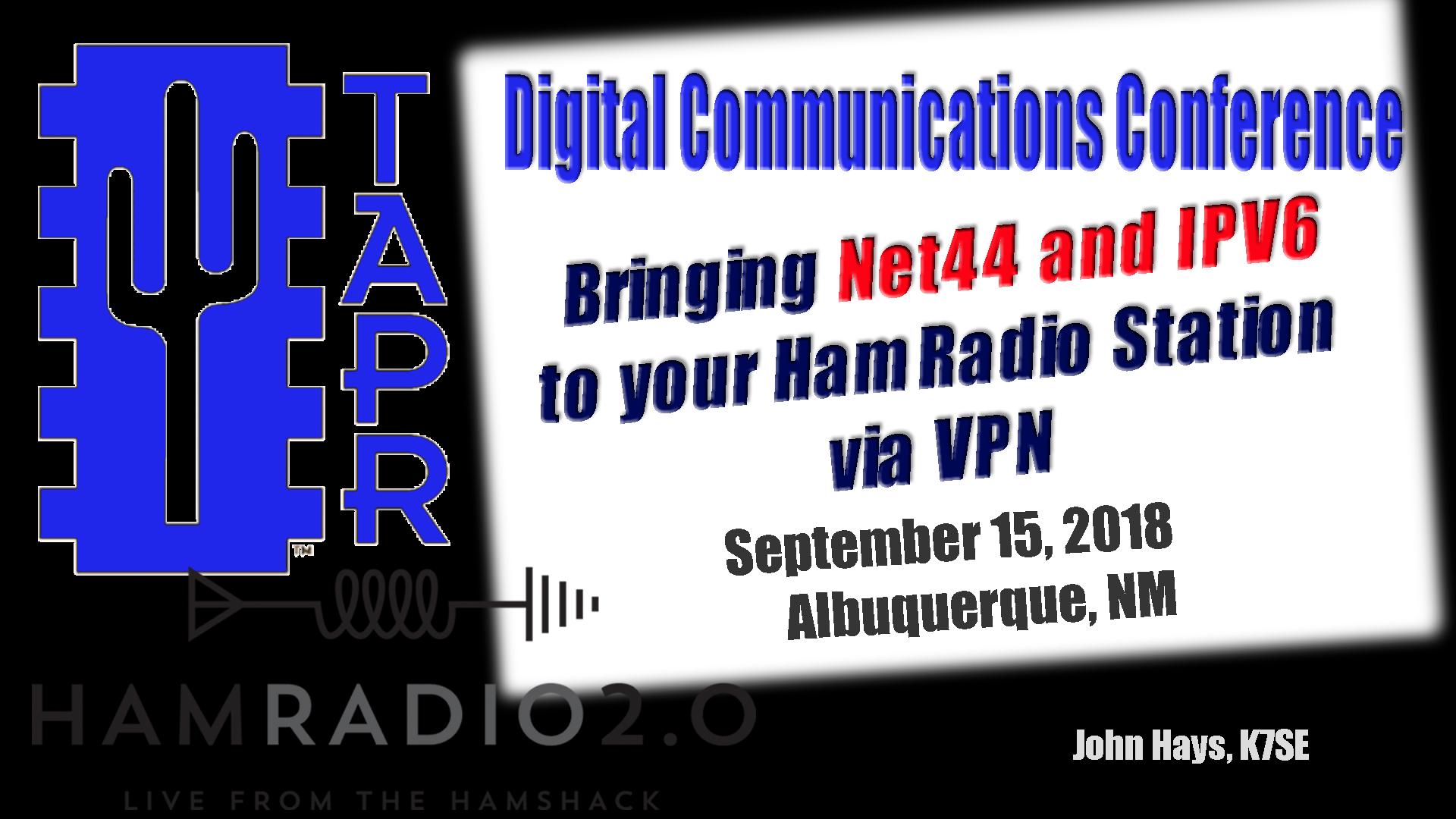 Episode 171: Bringing Net44 and IPV6 to your Ham Radio Station via VPN