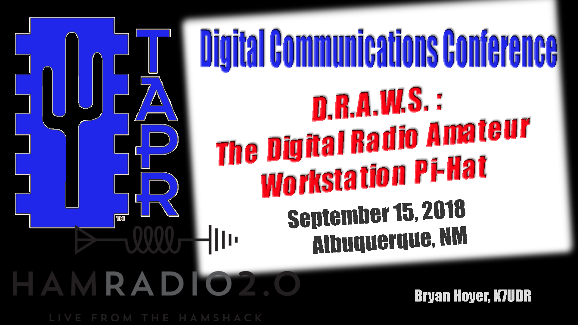 Episode 176: D.R.A.W.S. – the Digital Radio Amateur Workstation from NW Digital Radio, TAPR DCC