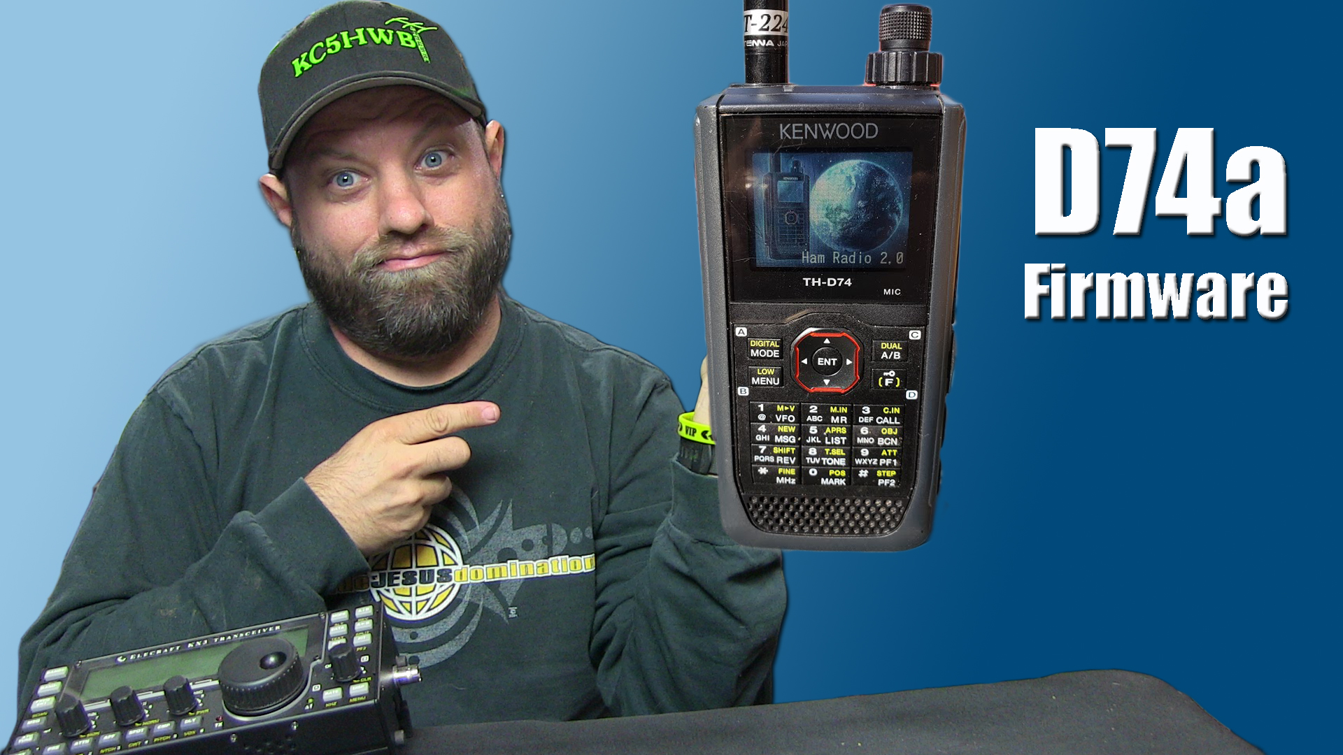 Episode 198: How To Update Firmware on the Kenwood TH-D74a