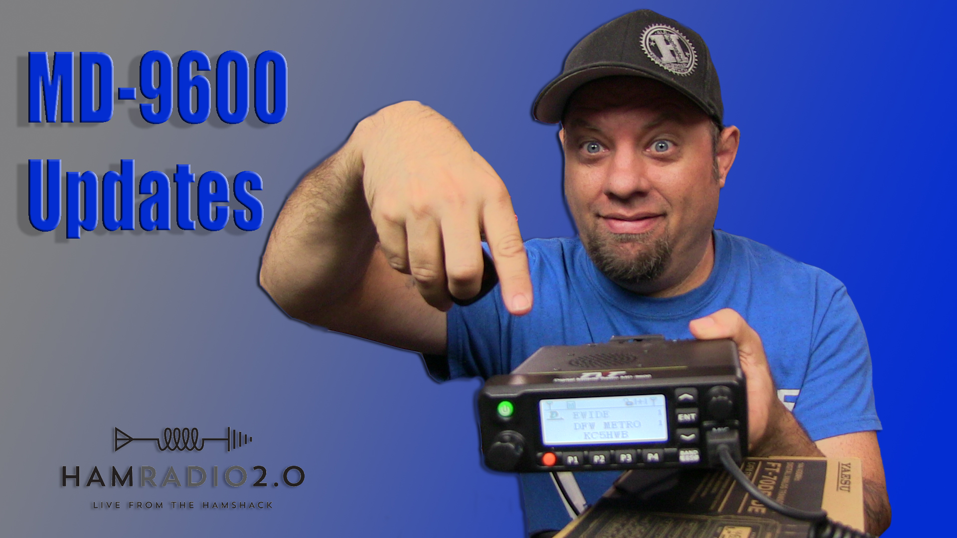 Episode 207: TYT MD9600 Firmware and Contacts Updating