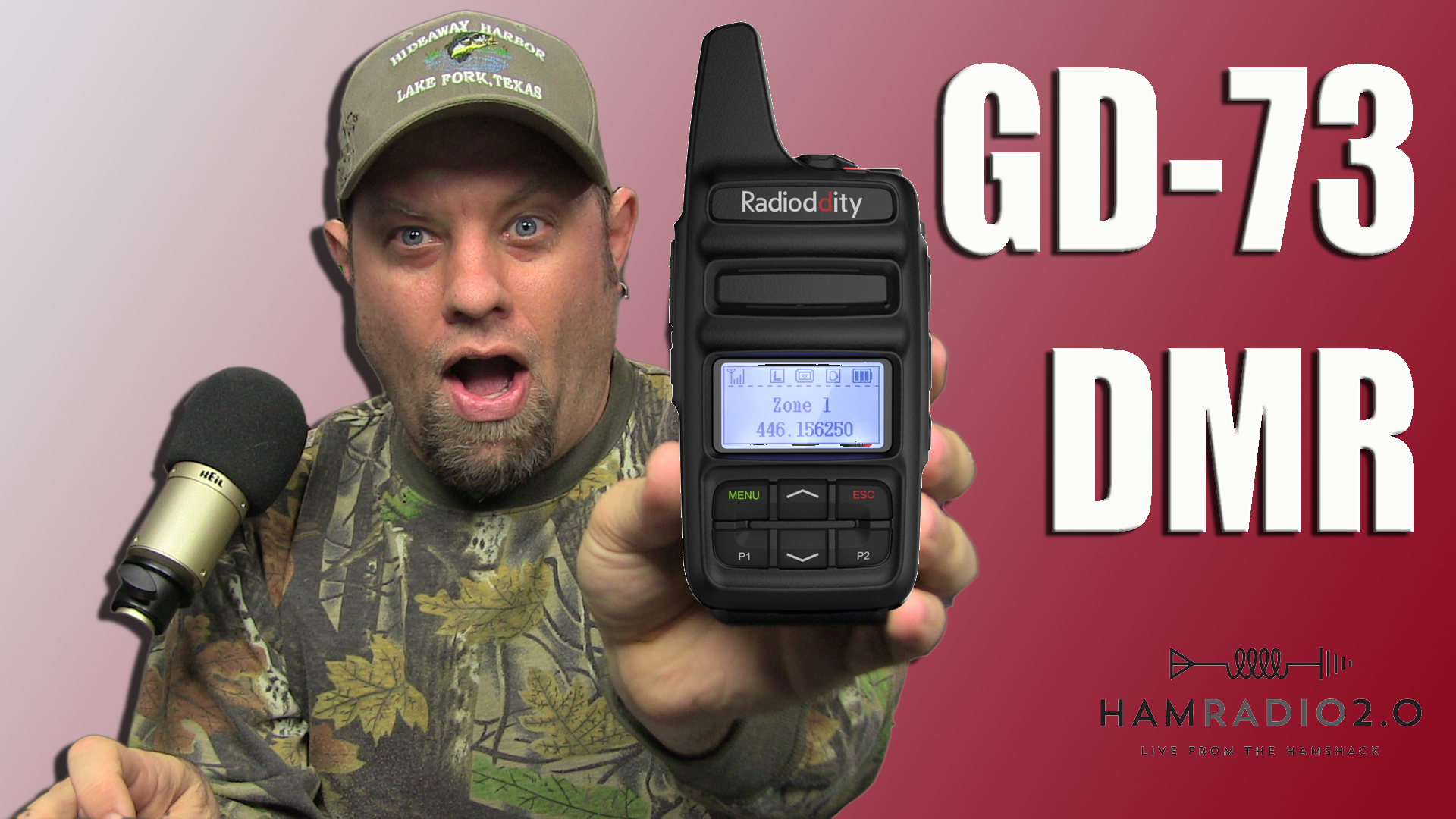 Episode 226: Radioditty GD-73 DMR HT – Programming and Using