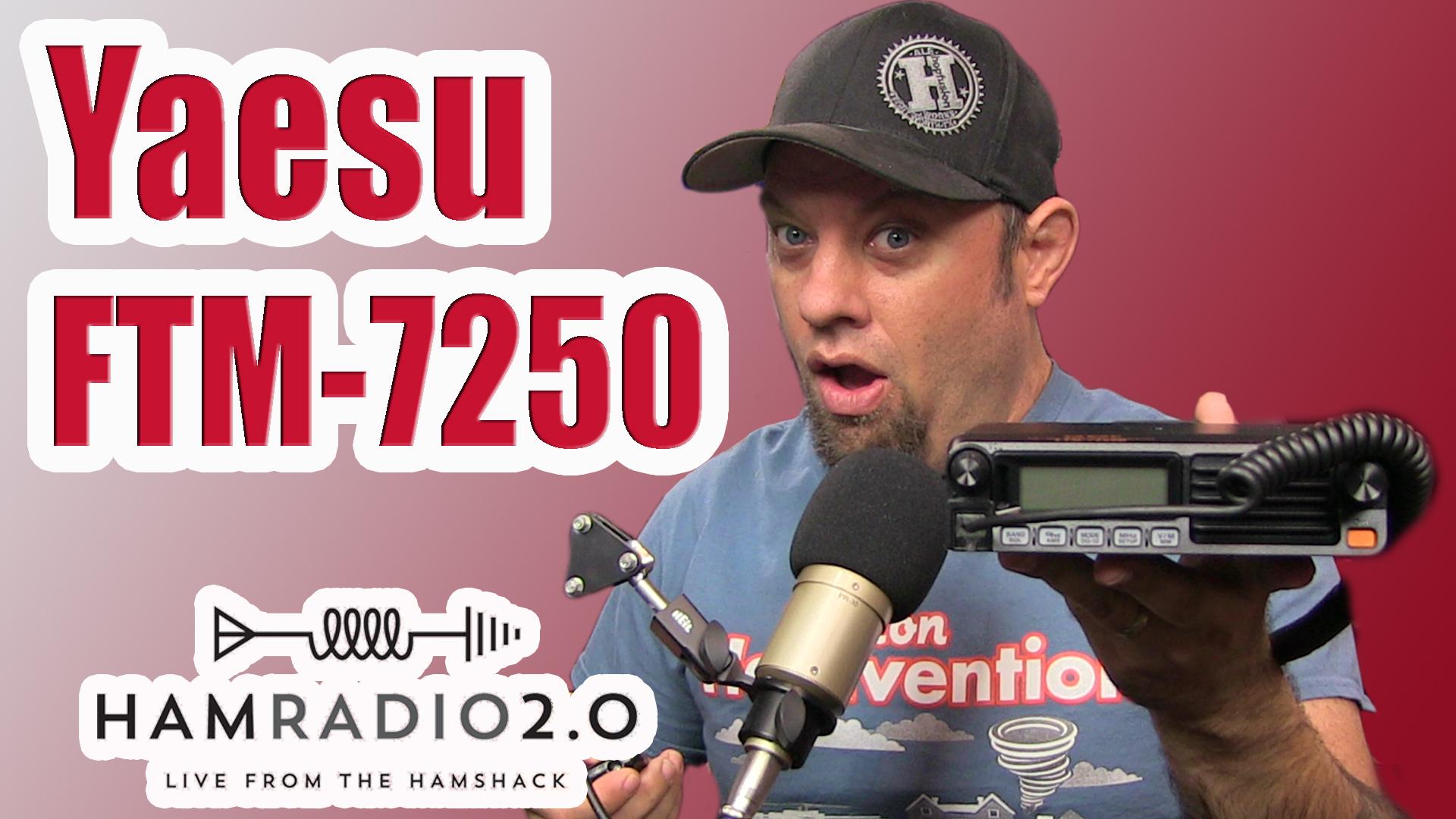 Episode 232: Yaesu FTM-7250DR System Fusion Mobile Radio Review