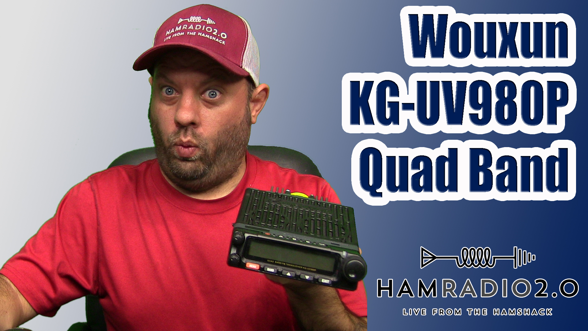 Episode 233: Wouxun KG-UV980P Quad Band First Look