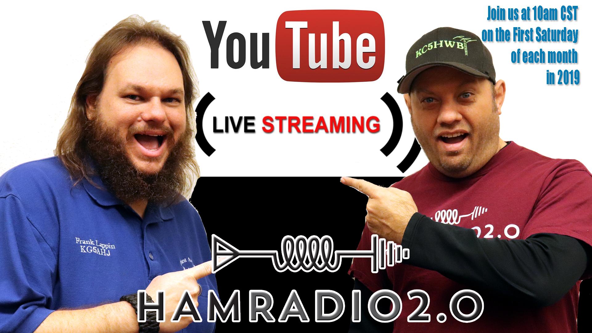 Episode 234: Ham Radio 2.0 Live Stream: Allstar