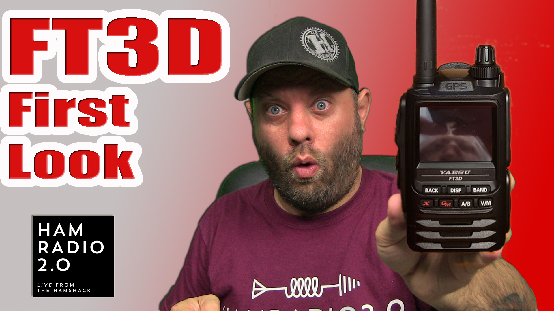 Episode 242: Yaesu FT3D System Fusion HT – First Look