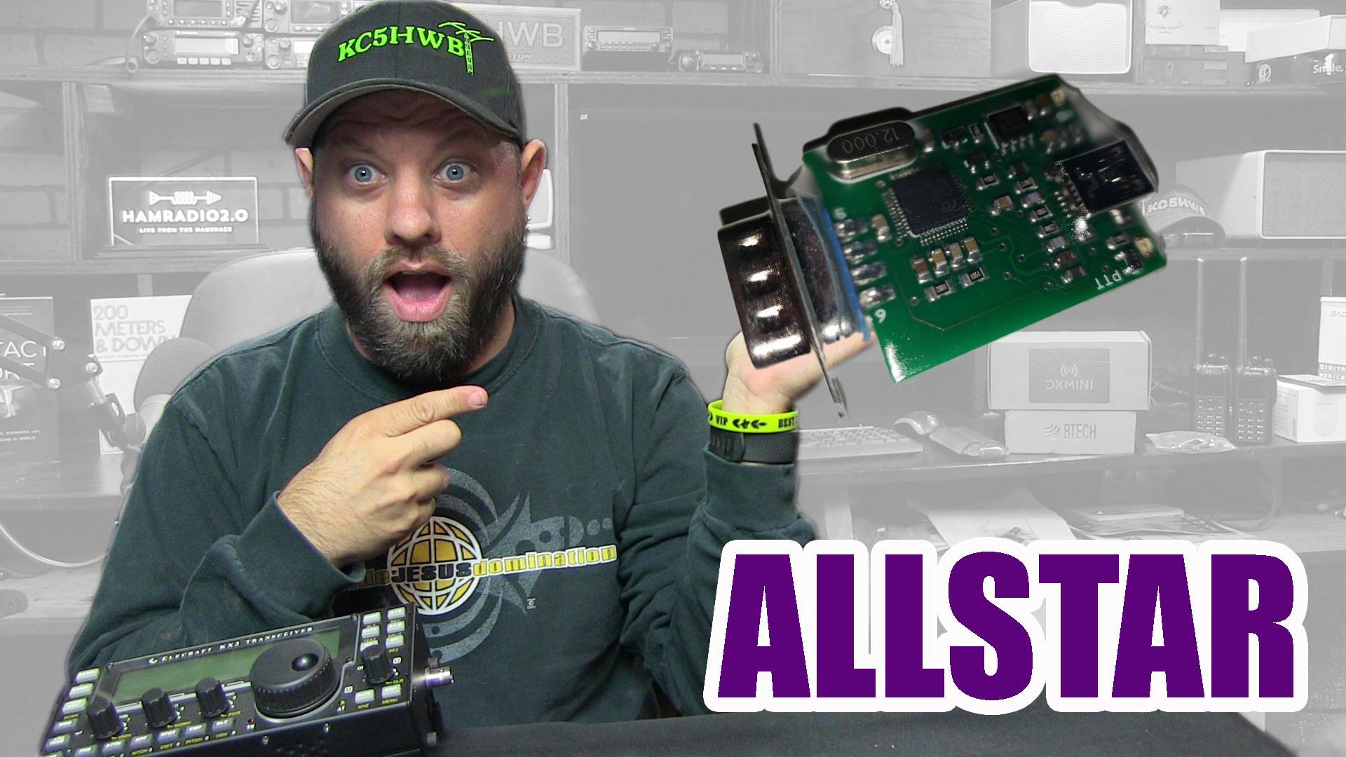 Episode 244: Allstar Node Demonstration with RIM-Alinco