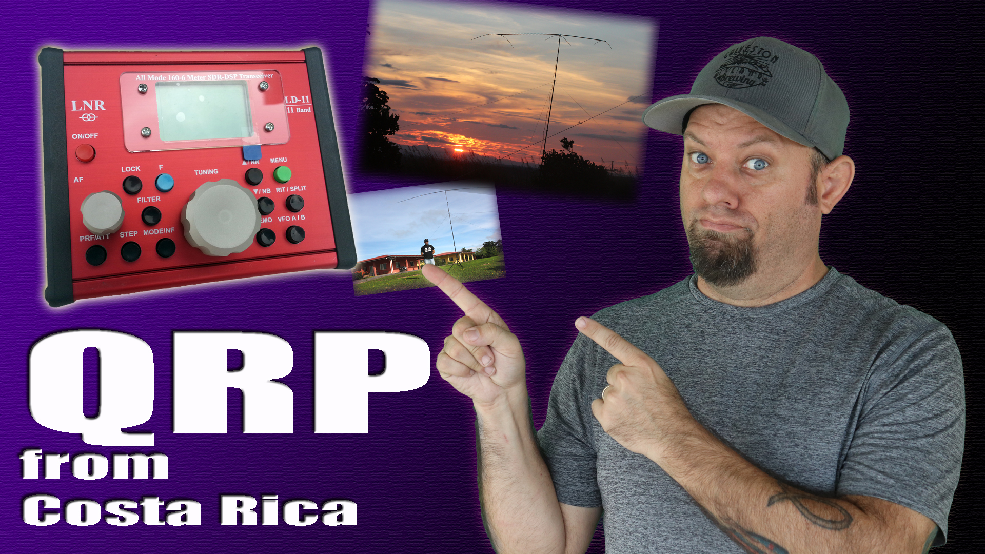 Episode 253: QRP From Costa Rica   2016 DXpedition Throwback