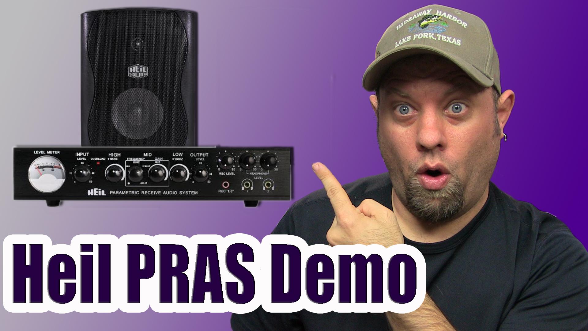 Episode 254: Heil Sound Parametric RX Audio System Demo
