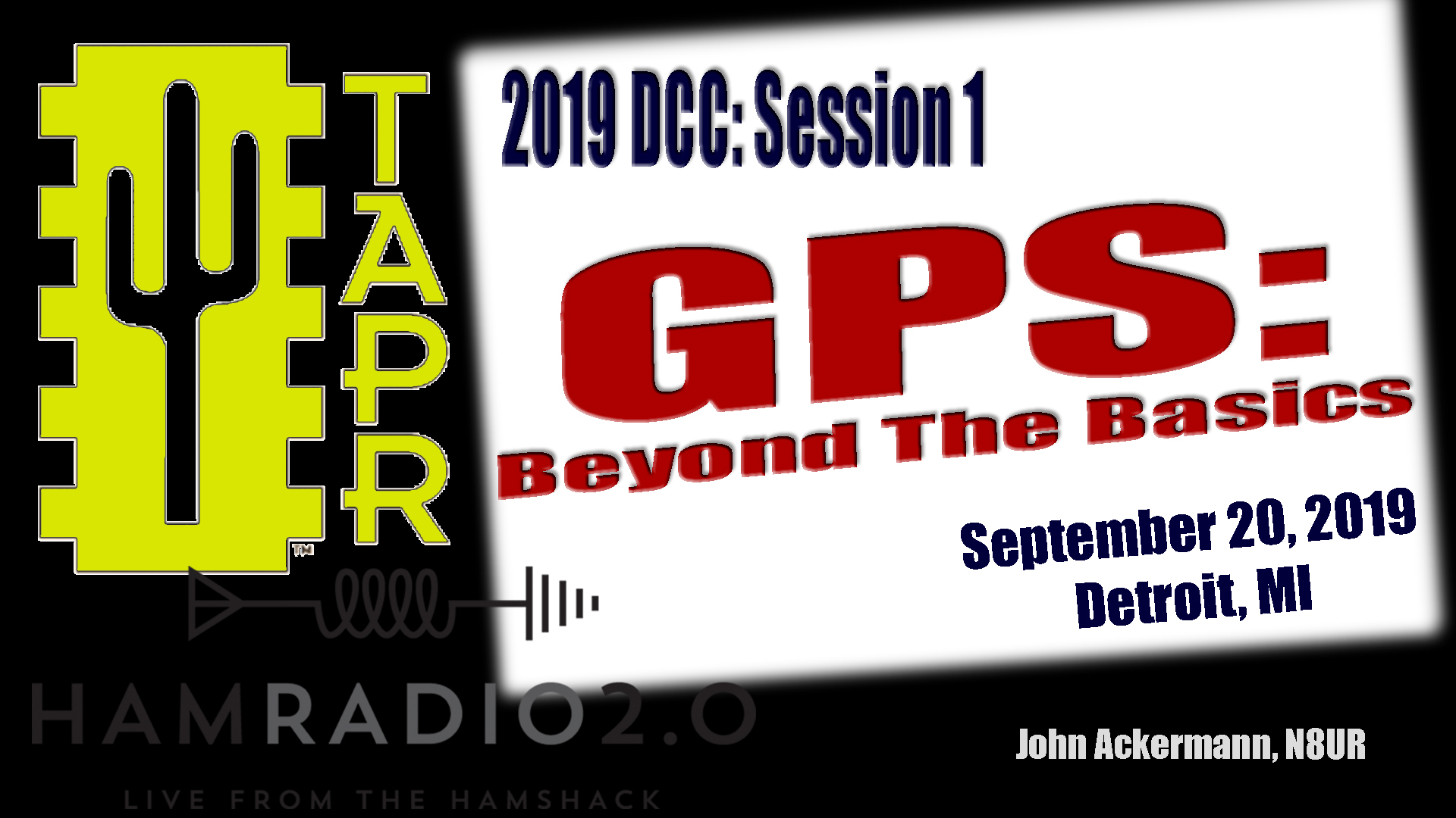 Episode 260: GPS: Beyond the Basics   TAPR DCC 2019
