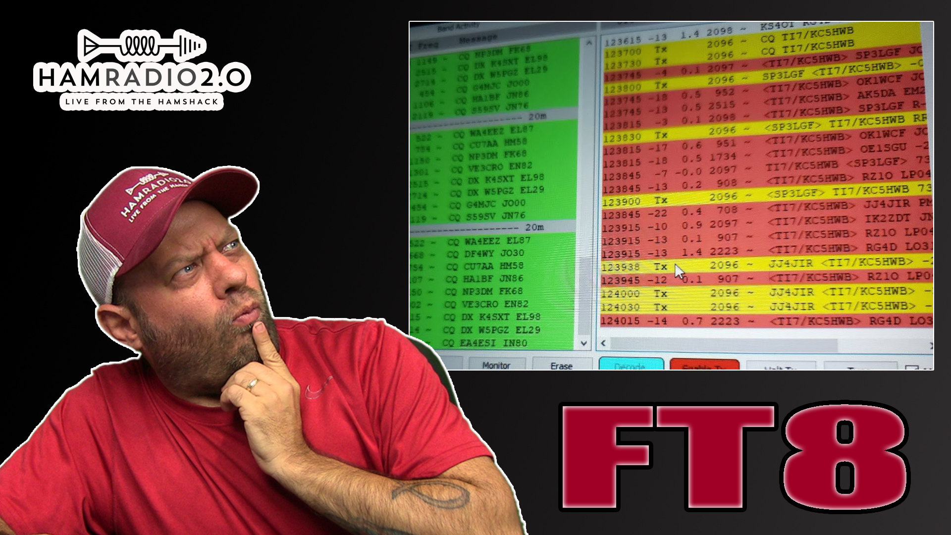 Episode 264: Operating FT8 in Costa Rica Remotely from Texas