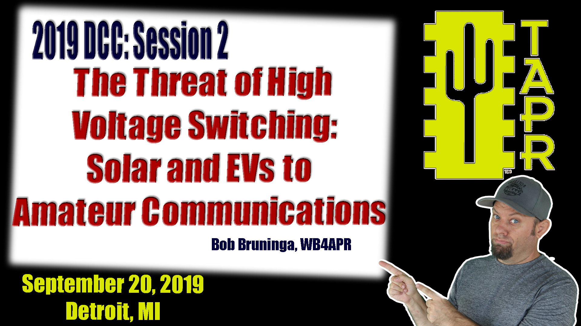Episode 265: Solar Power and Electric Vehicle threats to Amateur Radio Communications