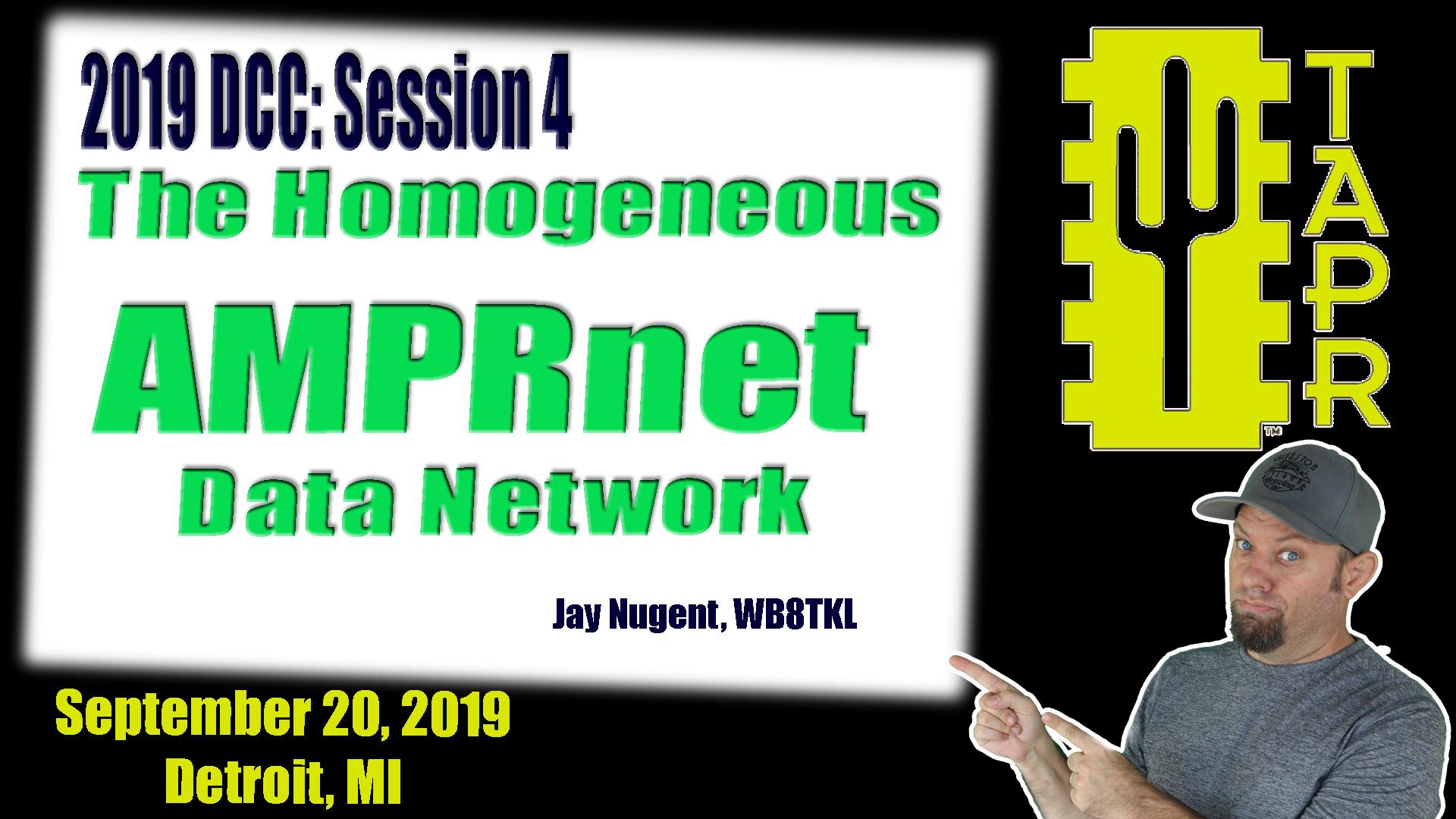 Episode 267: The Homogeneous AMPRnet Data Network for Ham Radio   TAPR DCC