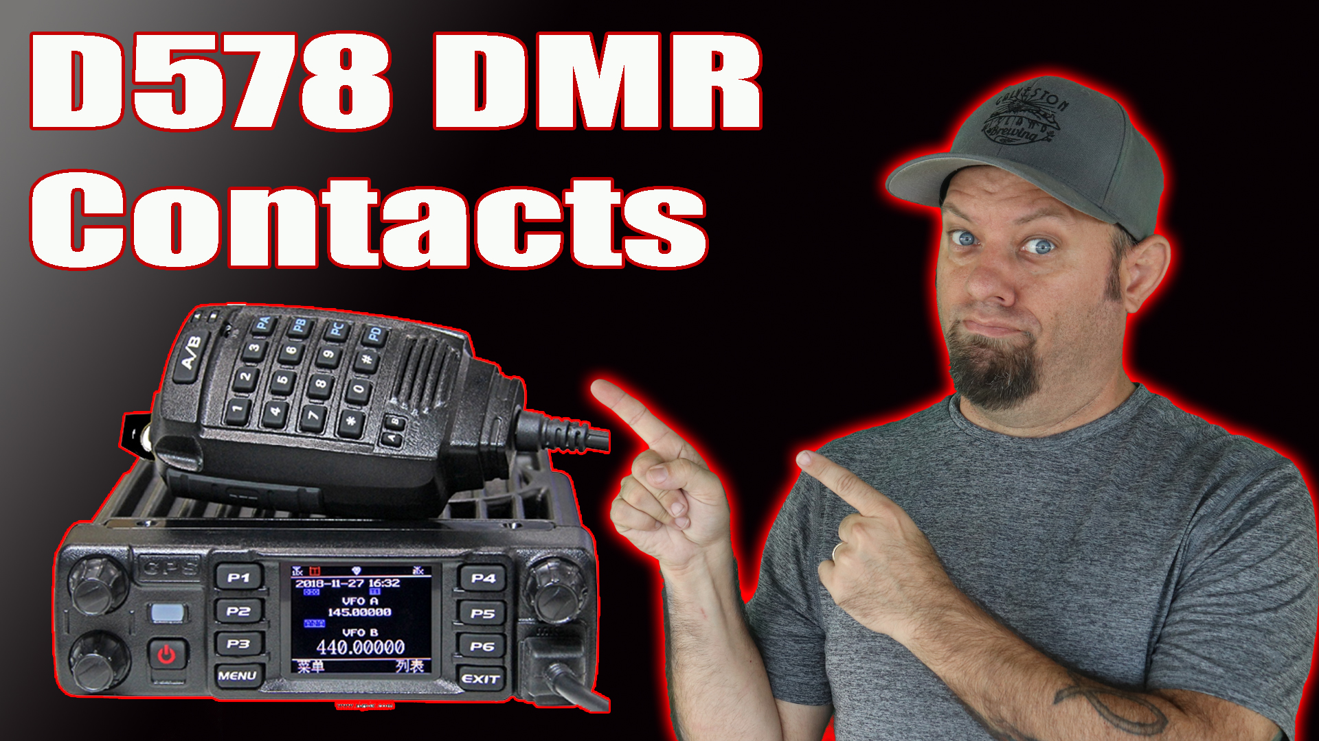 Episode 301: Anytone D578 Loading Contacts