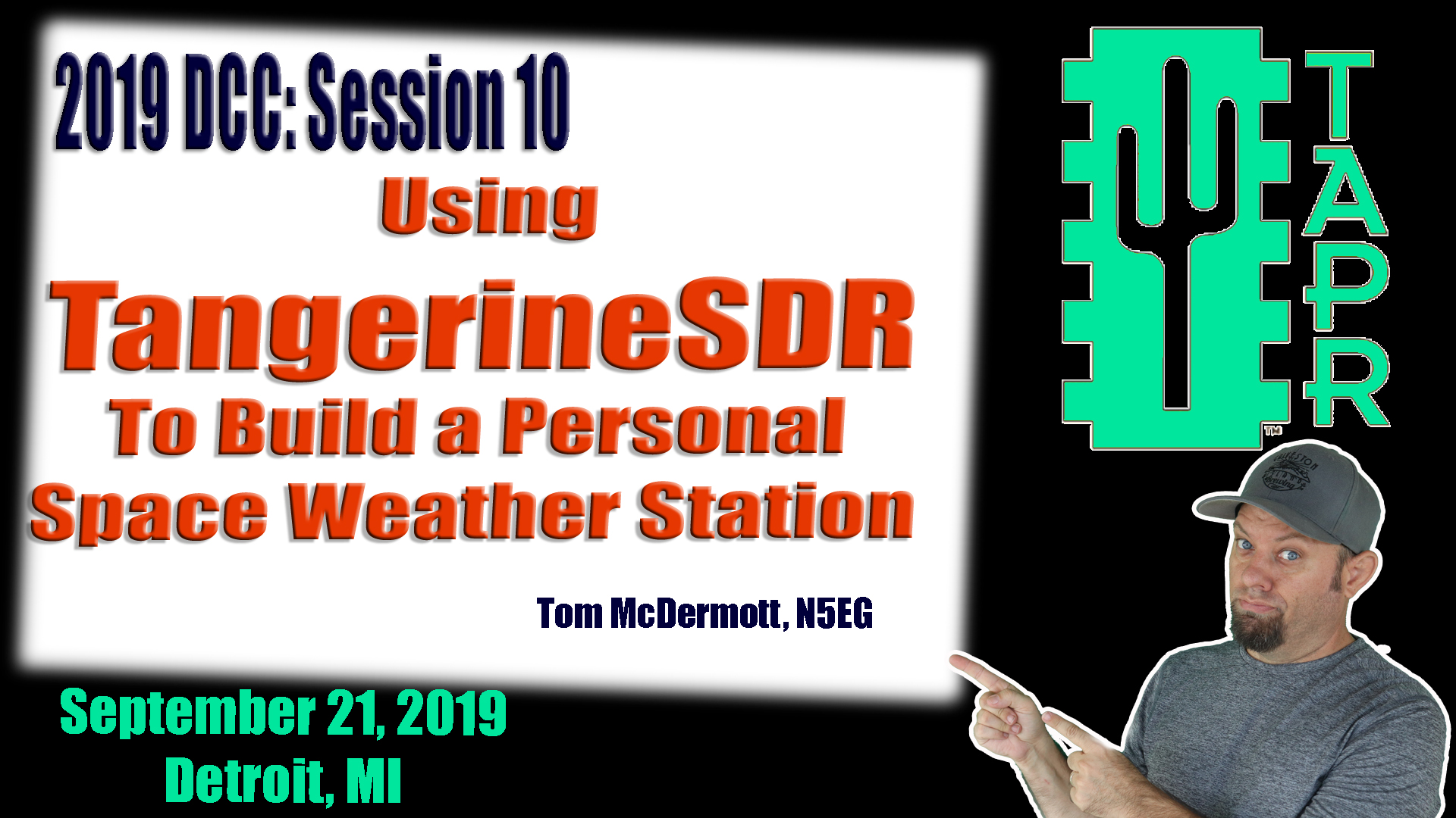 Episode 292: Using TangerineSDR to build a Personal Space Weather Station