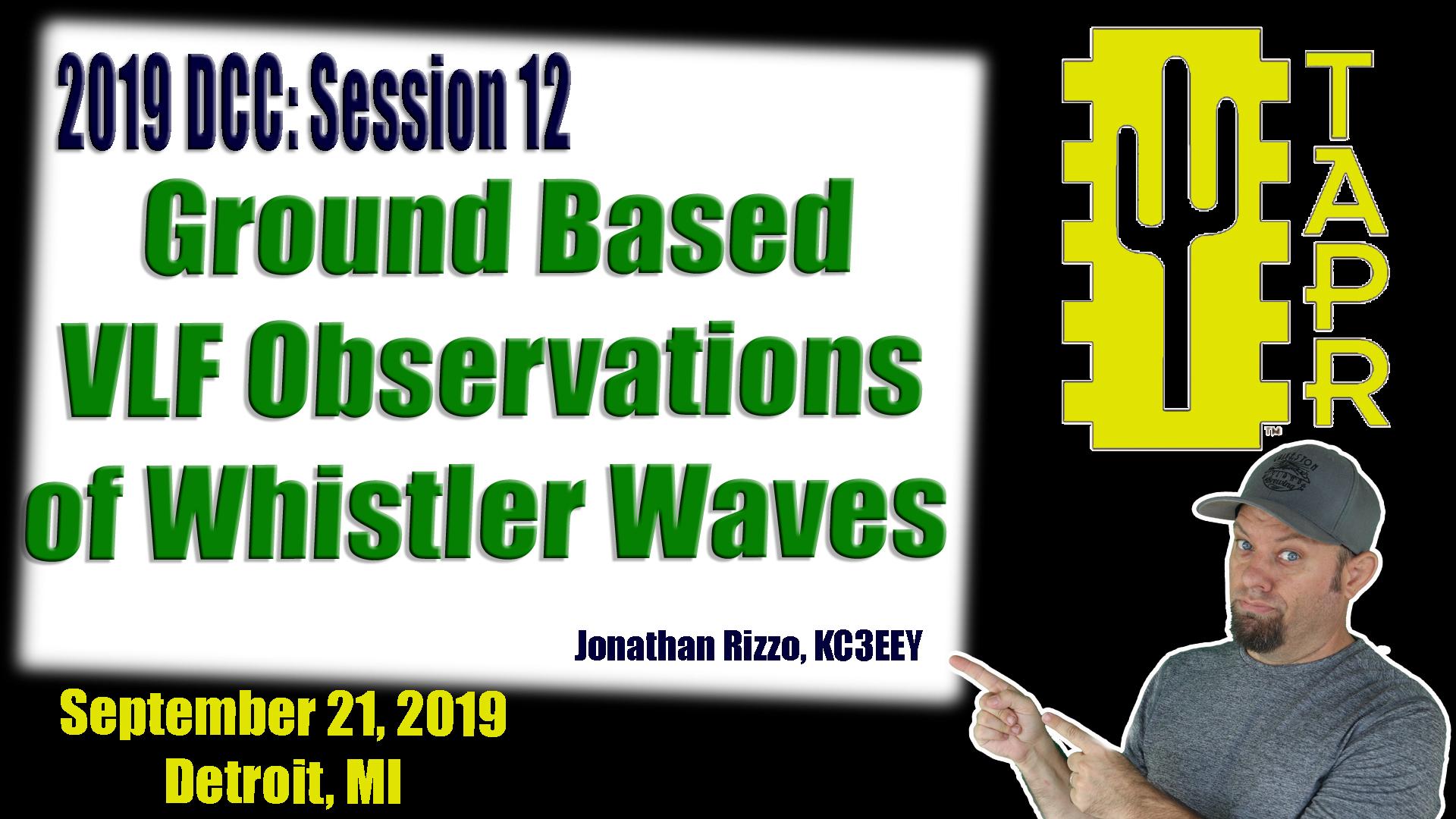 Episode 296: Ground Based VLF Observations of Whistler Waves