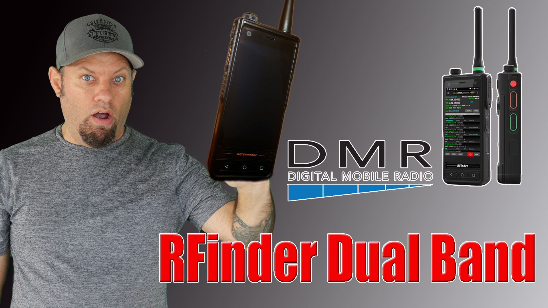 Episode 308: RFinder B1 Android Dual Band DMR Radio | First Look!