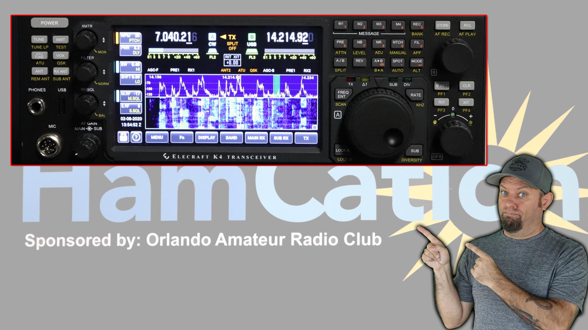 Episode 314: Elecraft K4 Updates from Orlando Hamcation 2020