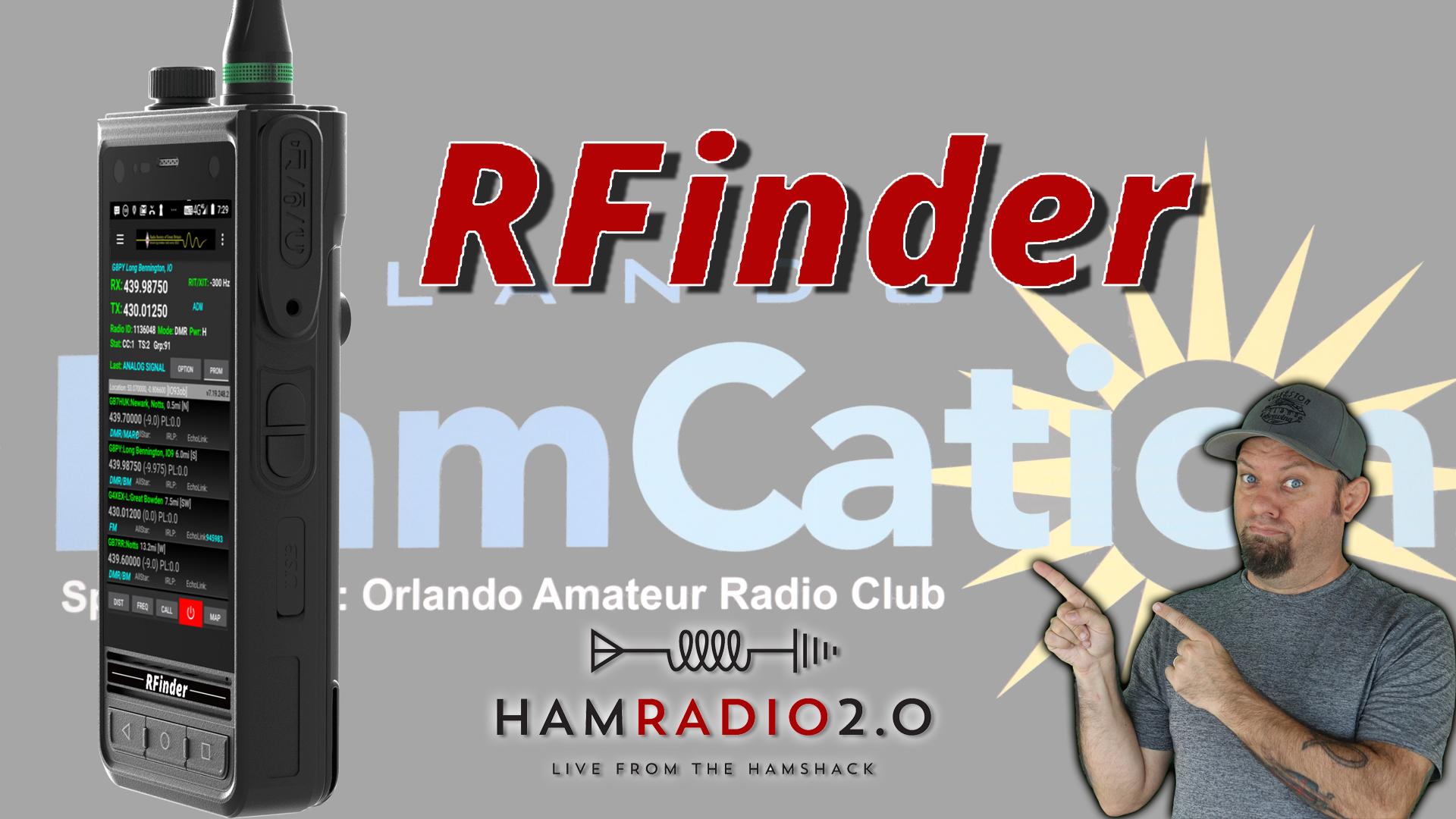 Episode 315: RFinder B1 Interview from Orlando Hamcation 2020