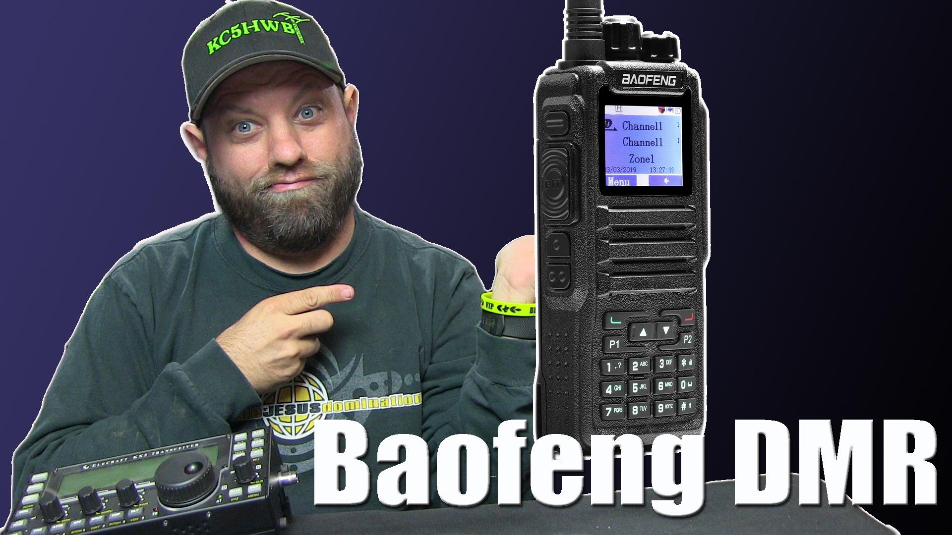 Episode 321: Baofeng DM-1701 Dual Band DMR HT