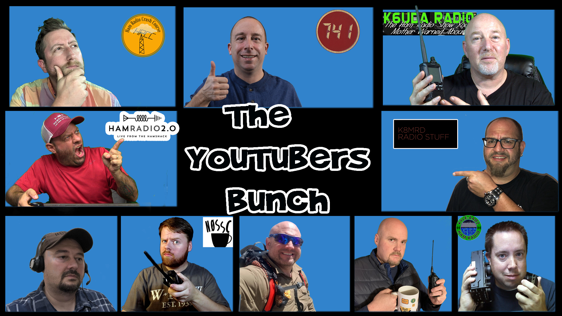 Episode 309: Hamcation, Prepper Radio and The Walking Dead | YouTubers Bunch #9