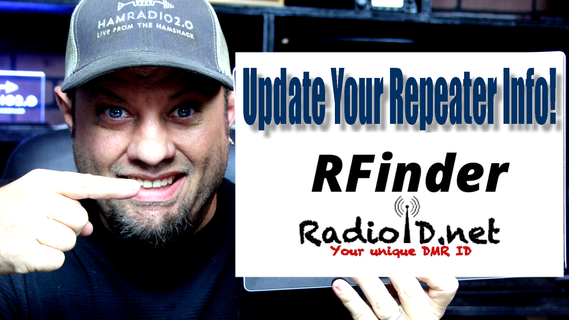 Episode 328: RFinder and RadioID.net Repeater Sync Instructions