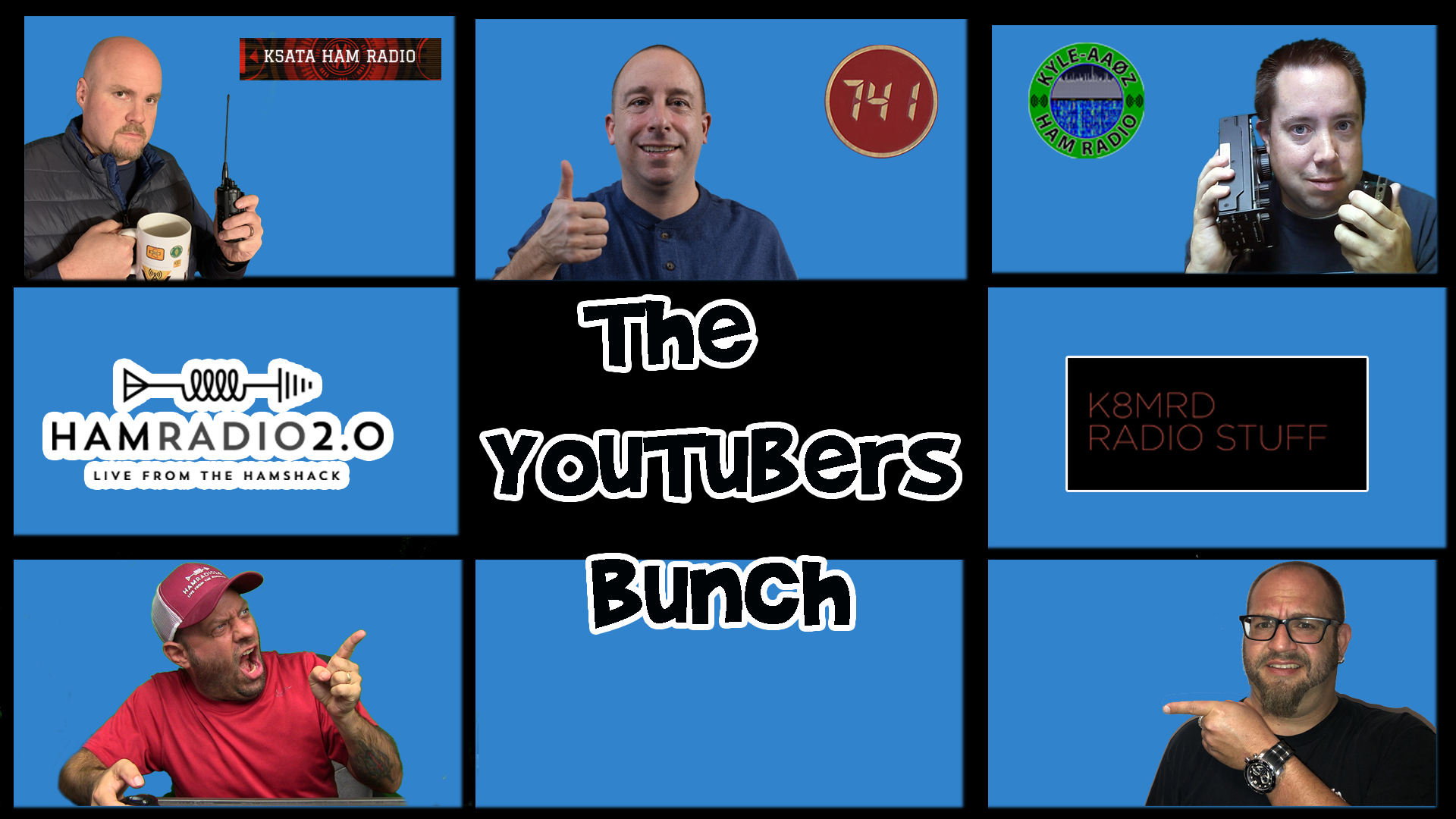 Episode 330: Ham Radio Antenna – What's Your Choice? | YouTubers Bunch #12