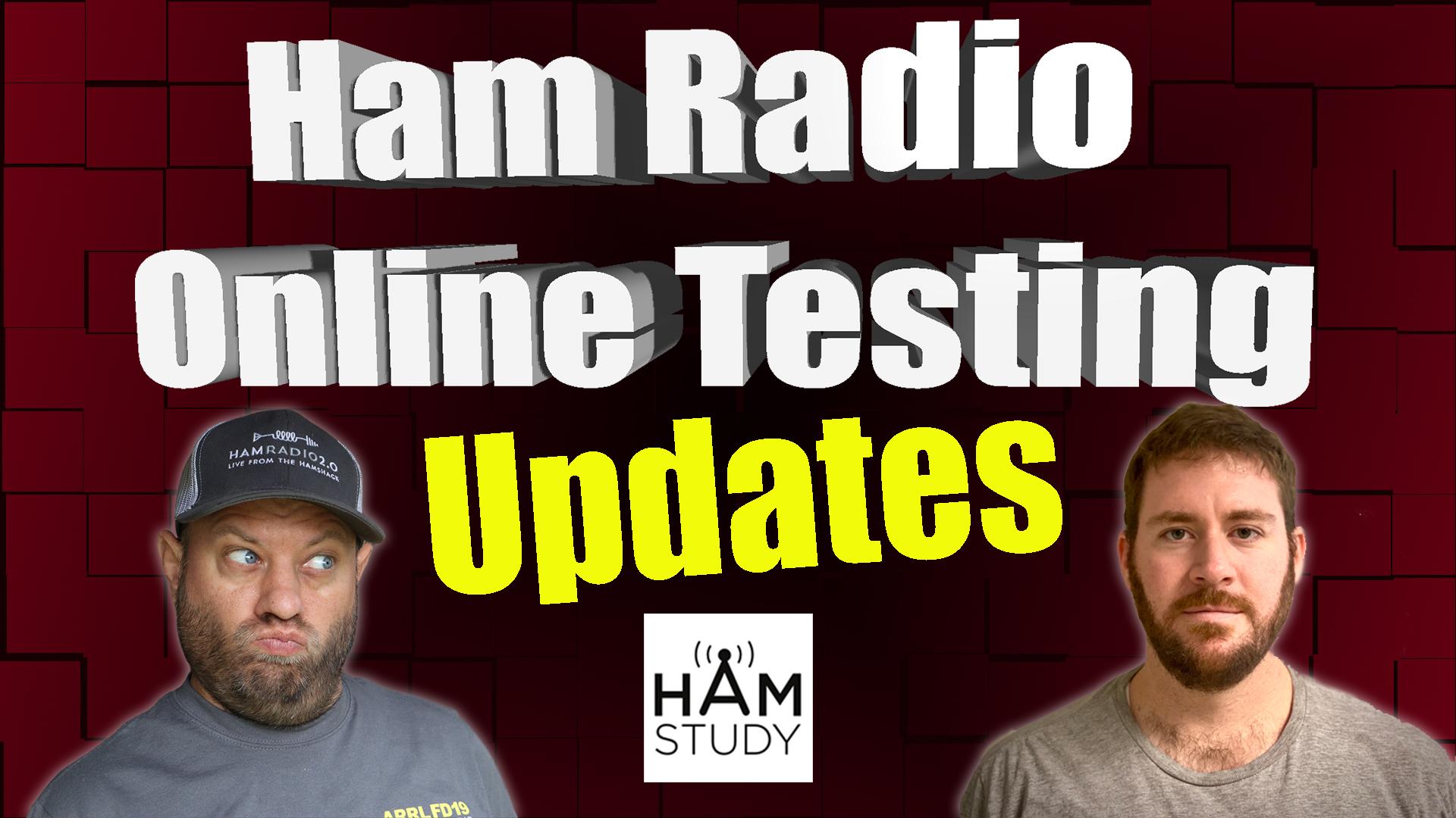 Episode 341: Ham Radio Online Testing Updates – YES MORE!