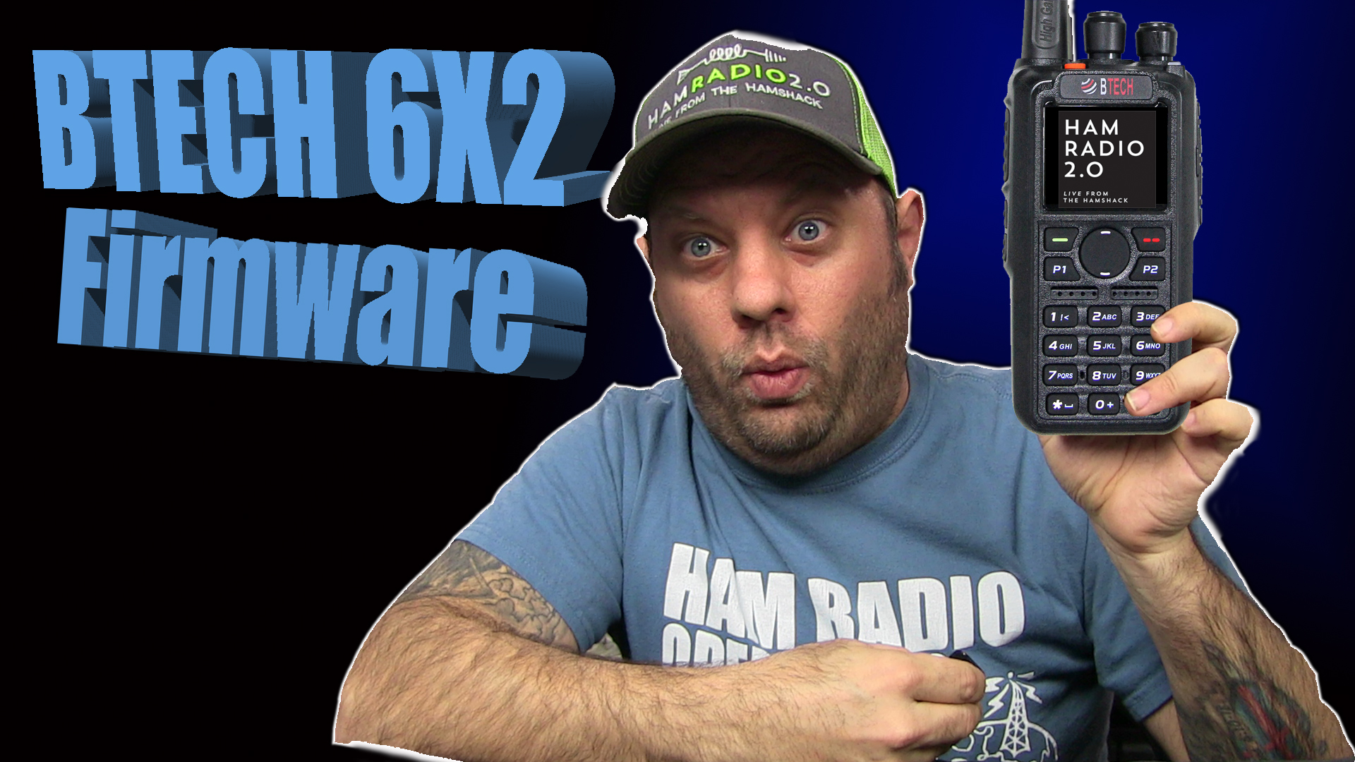 Episode 350: BTECH 6X2 Updates | EASY Steps to Update DMR Firmware and Contacts