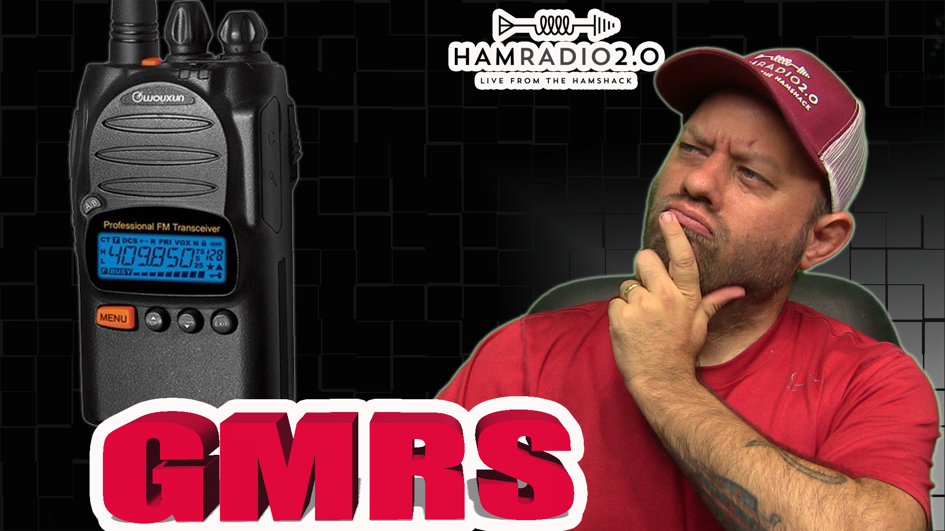 Episode 372: What Is GMRS? Wouxun KG-805G GMRS Radio Revealed!