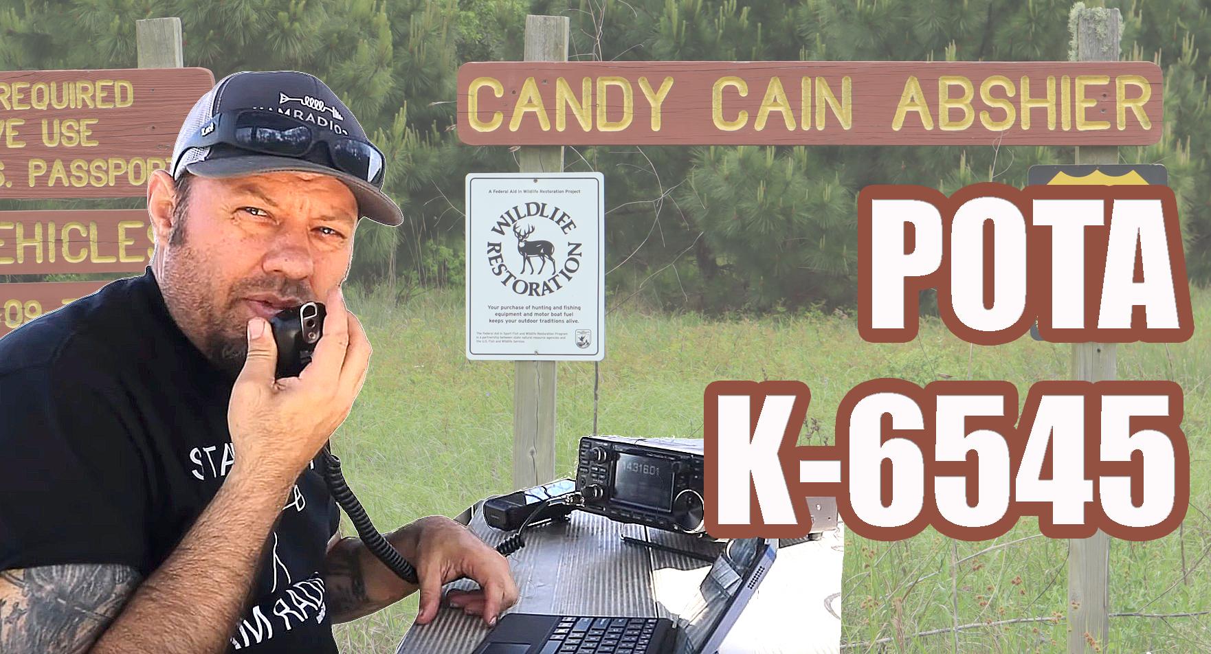 Episode 389: Parks On The Air Activation K-6545 | Ham Radio POTA