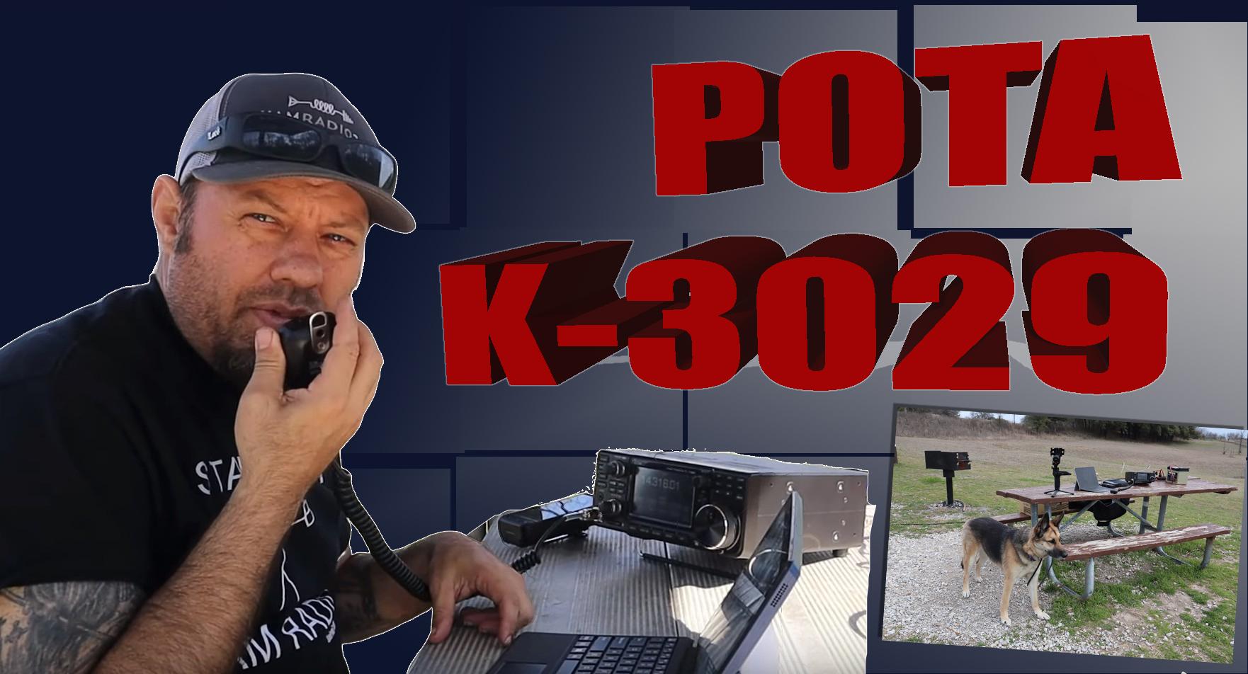 Episode 352: Ham Radio Parks On The Air Activation | POTA K-3029
