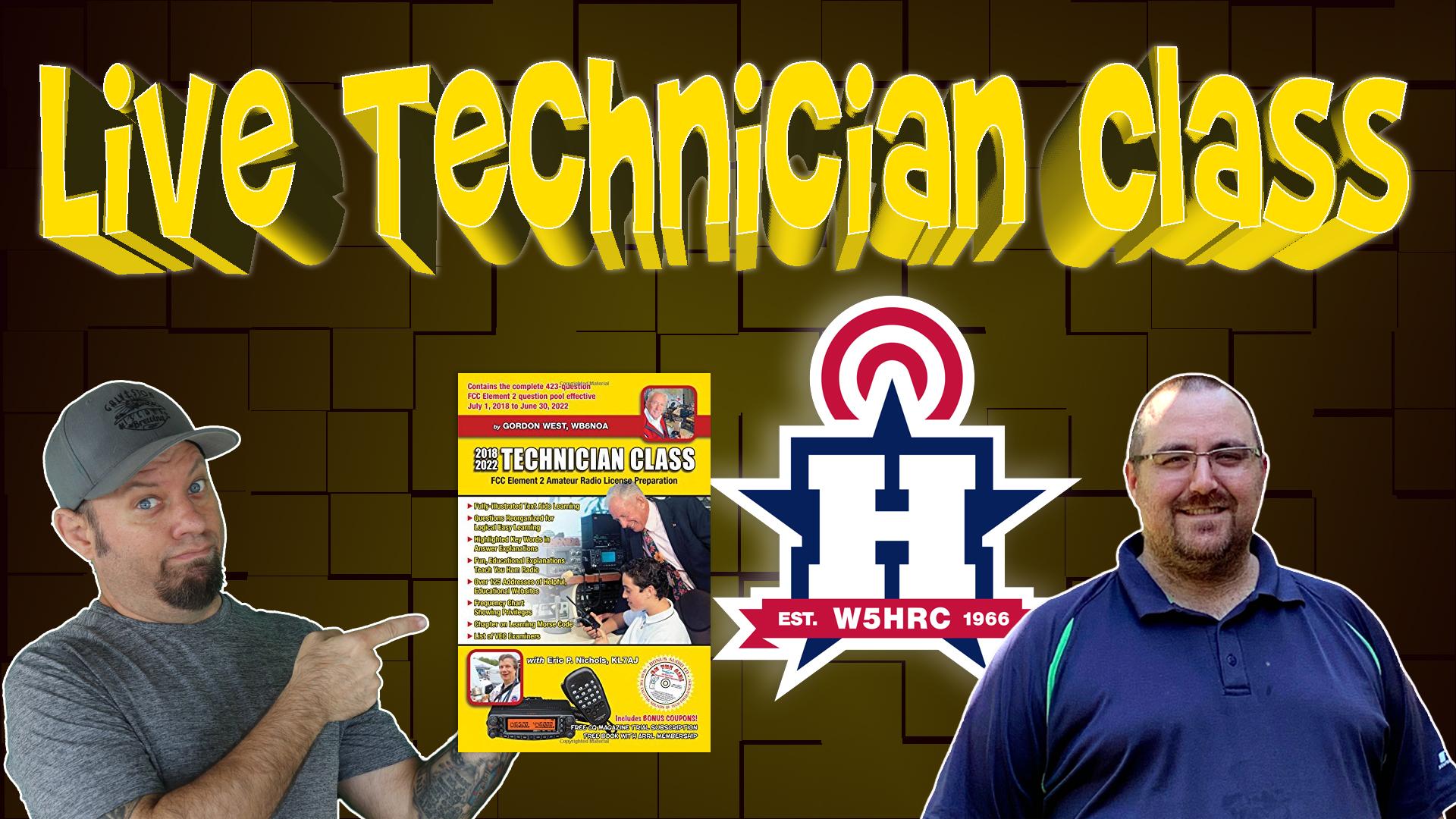 Technician Class for New Ham Radio Operators – Livestream Replays