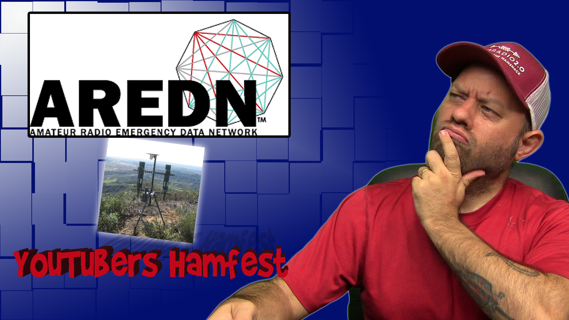 Episode 377: AREDN Mesh Interview with K6AH for the YouTubers Hamfest Prequel