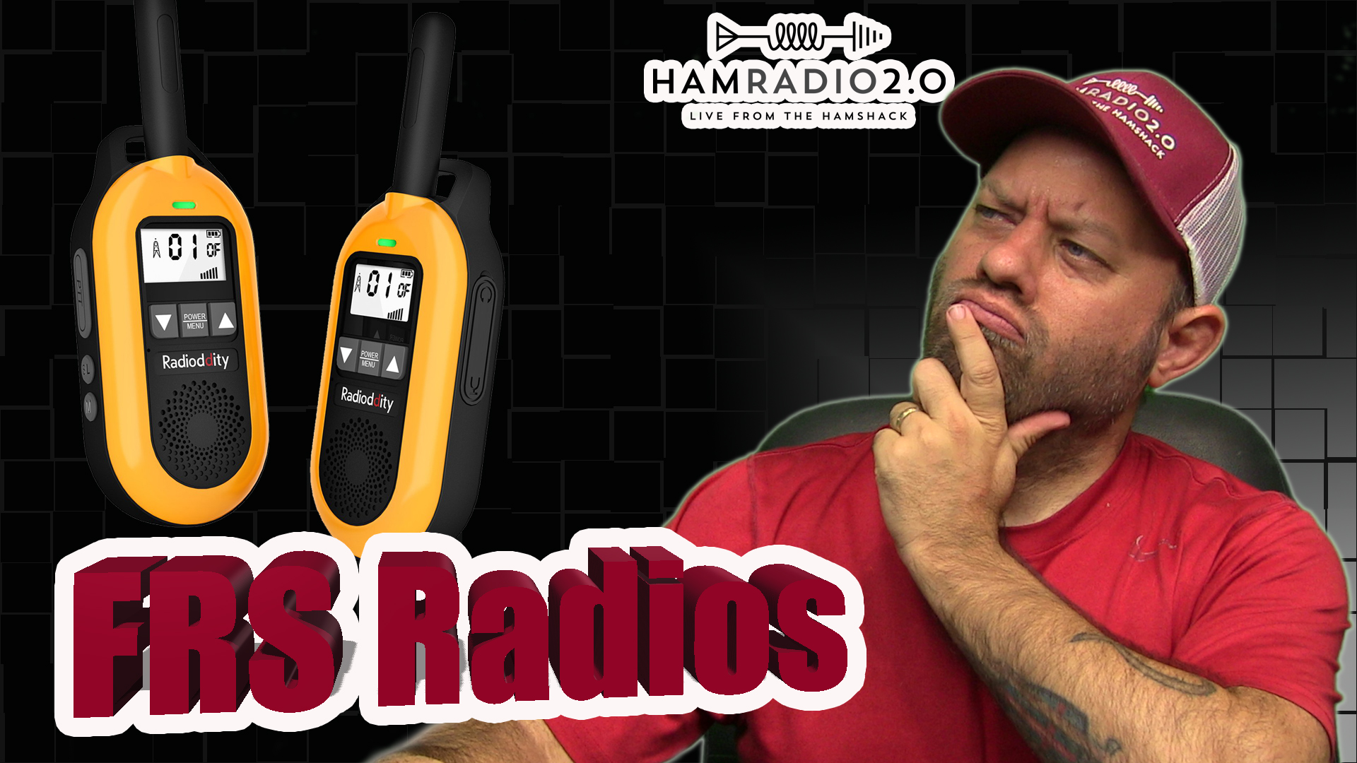 Episode 405: What is FRS? Radioddity FS-T2 FRS Radio Review | Family Radio Service