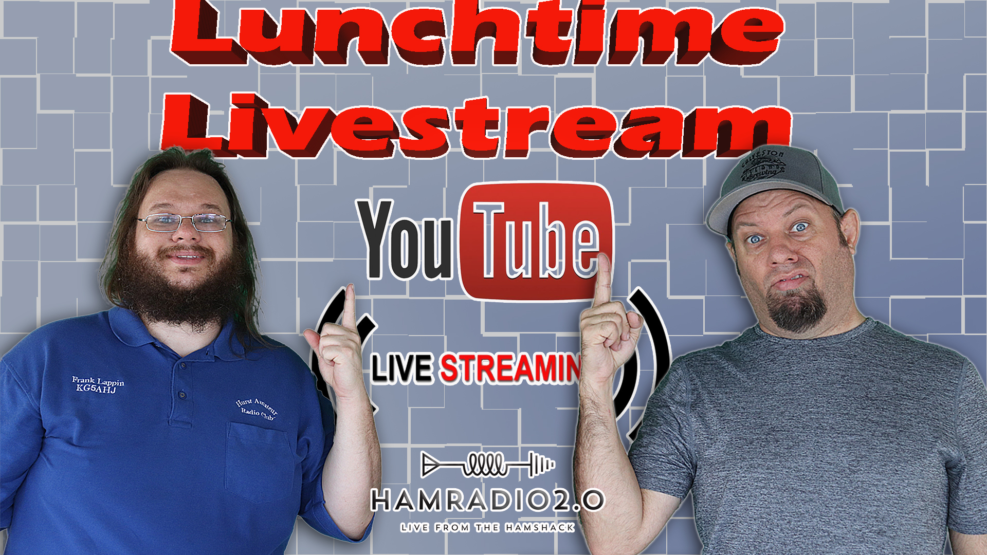 Episode 406: Lunchtime Livestream with Ham Radio 2.0 | July 4th Weekend!