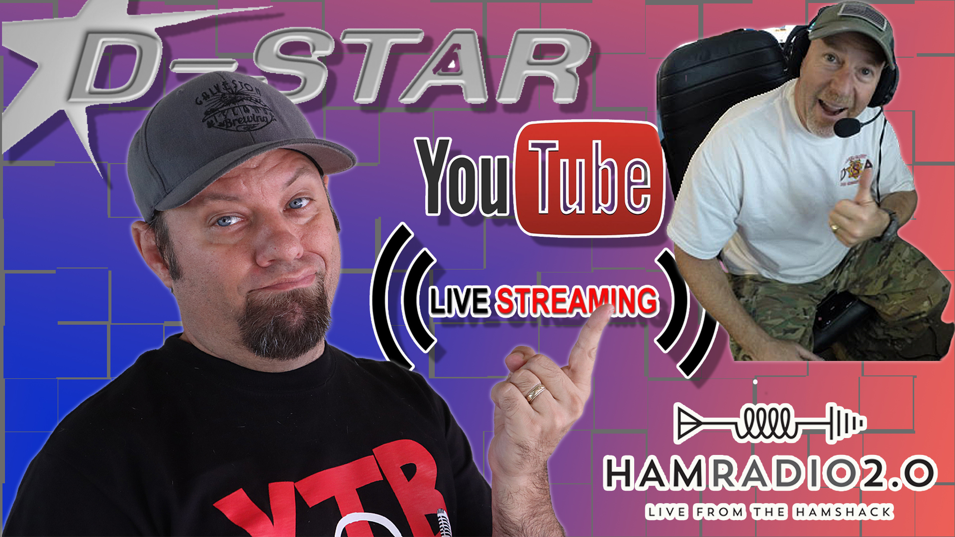 Episode 391: Getting Started with DSTAR! – LIVESTREAM with Bob, K6UDA