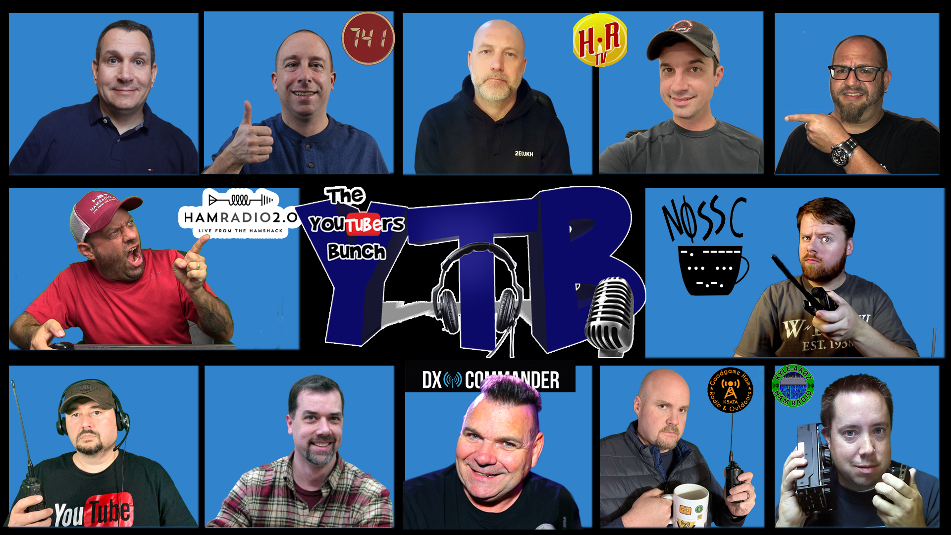 Episode 401: YouTubers Hamfest Survey Discussion from the YouTubers Bunch for Ham Radio