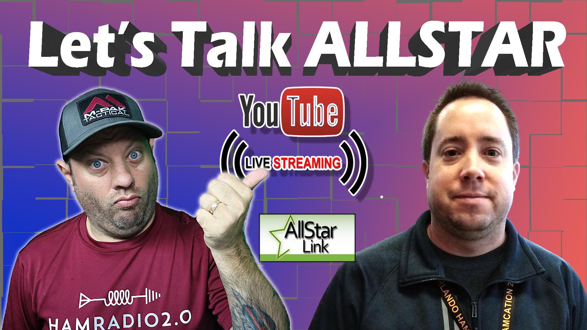 Episode 418: Ham Radio Allstar!  AllstarLink and HamVOIP – Livestream with AA0Z !