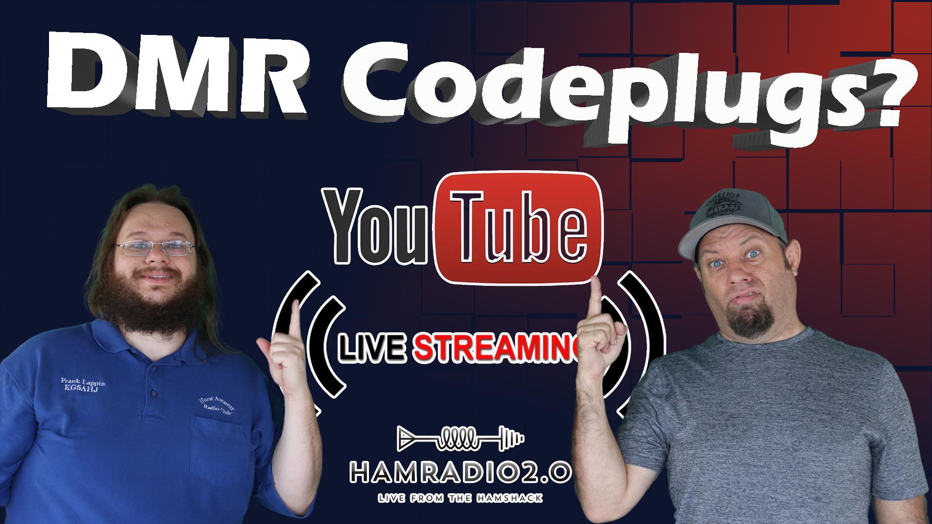 Episode 427: How To Write a DMR Codeplug!  DMR Codeplug Programming Livestream